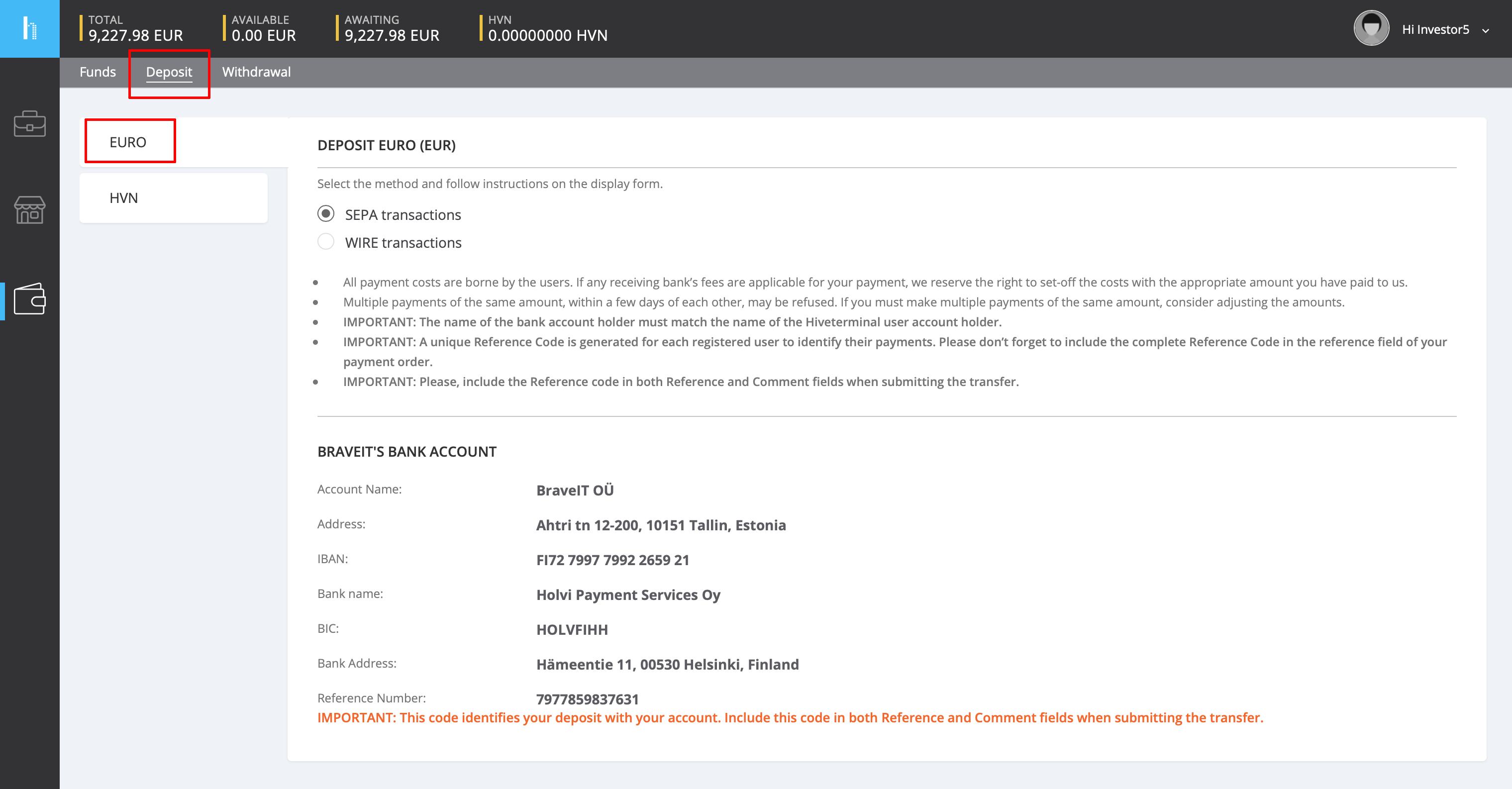 Hiveterminal Invoice Buyer Handbook | Hiveterminal Documentation